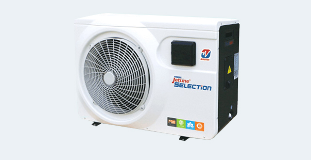 pompe di calore per piscine jetline selection