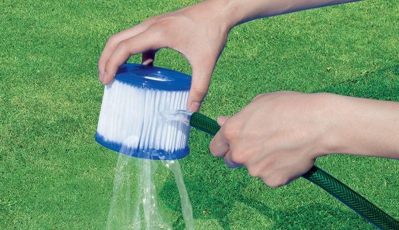 pulizia dei filtri a cartuccia