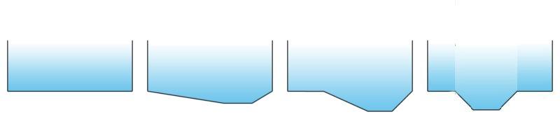 tipologie di fondo piscina