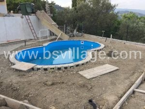 riempimento piscina interrata