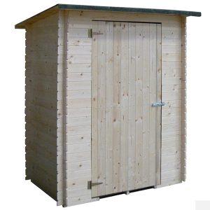 casetta in legno Aosta per locale tecnico