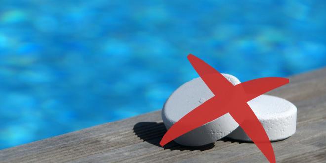 piscina senza cloro