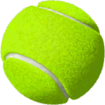 palla da tennis per gli oli in piscina