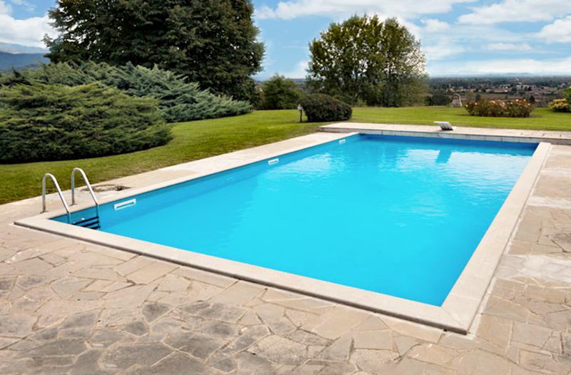 Passi per costruire una piscina in cemento armato galleria