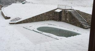 proteggere la copertura invernale per la piscina