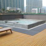 tappetino antiscivolo bordo piscina