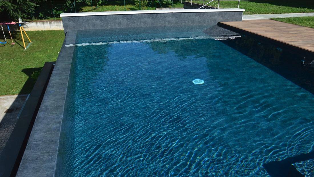liner piscina scuro