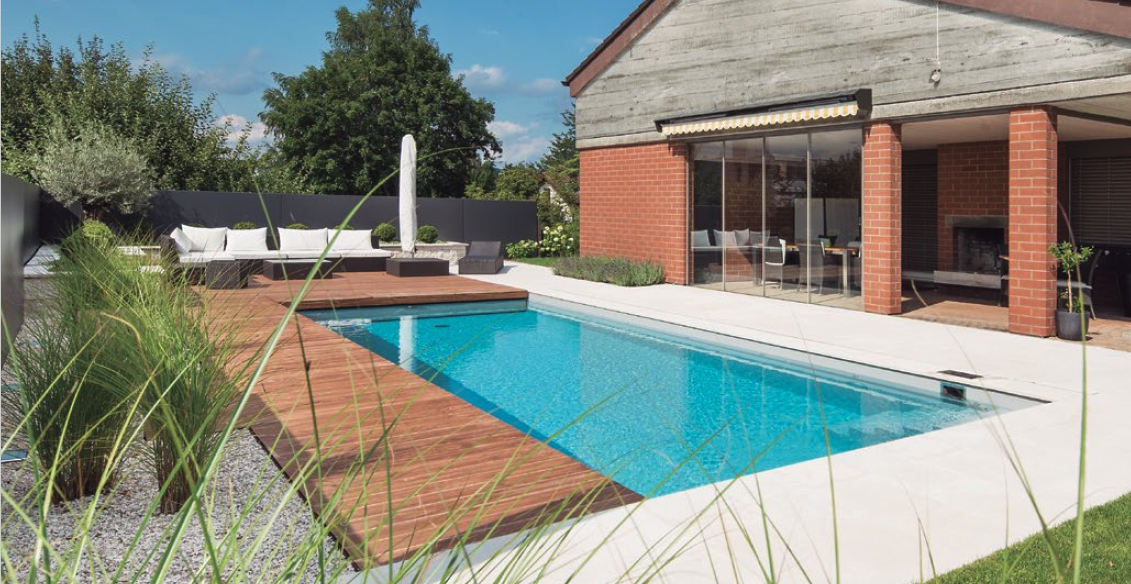 colore dell'acqua per scegliere il liner per piscine