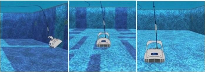 robot pulizia intelligente