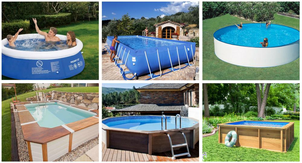 tipologie di piscine fuori terra