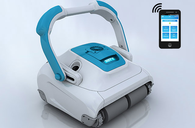 Robot per piscina NET 7 Gyro by Aquabot