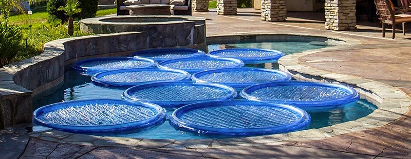 Anelli solari per piscina