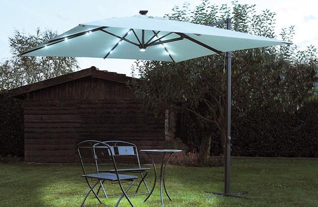 Ombrellone Solare Luci LED