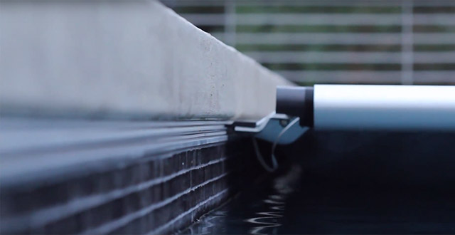 binari copertura automatica piscina