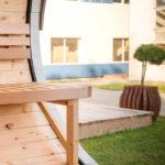 Finestra sauna finlandese da esterno LAILA