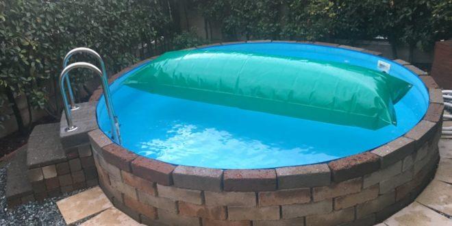 cuscino ad aria per piscina fuori terra