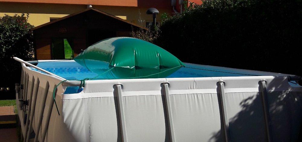 installazione cuscino ad aria