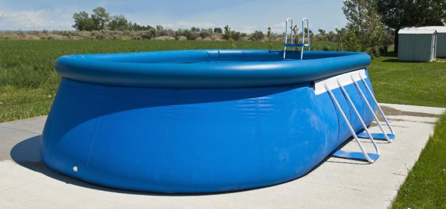 montaggio piscine gonfiabili