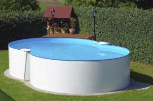 guida piscine in acciaio fuori terra
