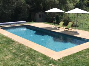 piscina interrata rettangolare