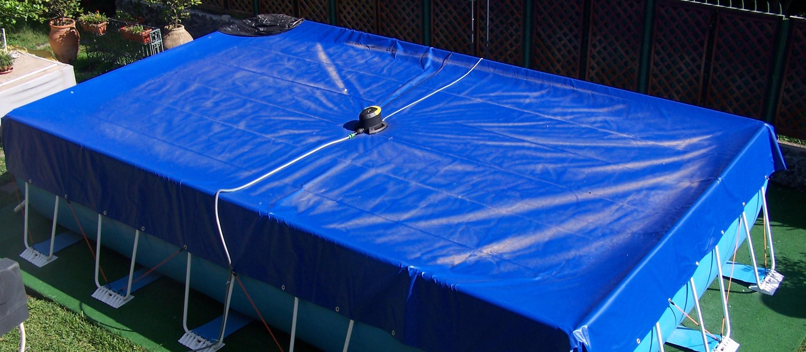 Coperture invernali su misura per piscine fuori terra