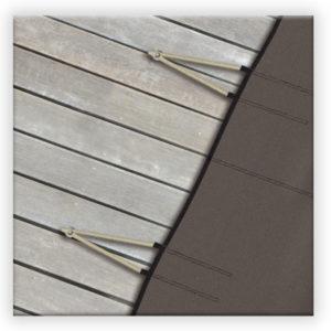 sistema di fissaggio copertura filtrante grille cold