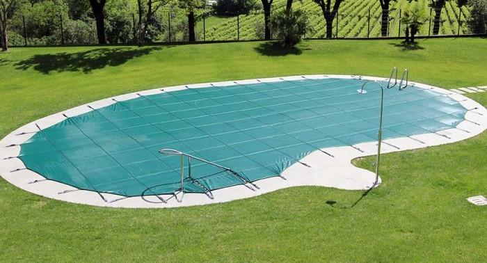 copertura filtrante per piscina Retintex