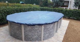 copertura invernale per piscina fuori terra