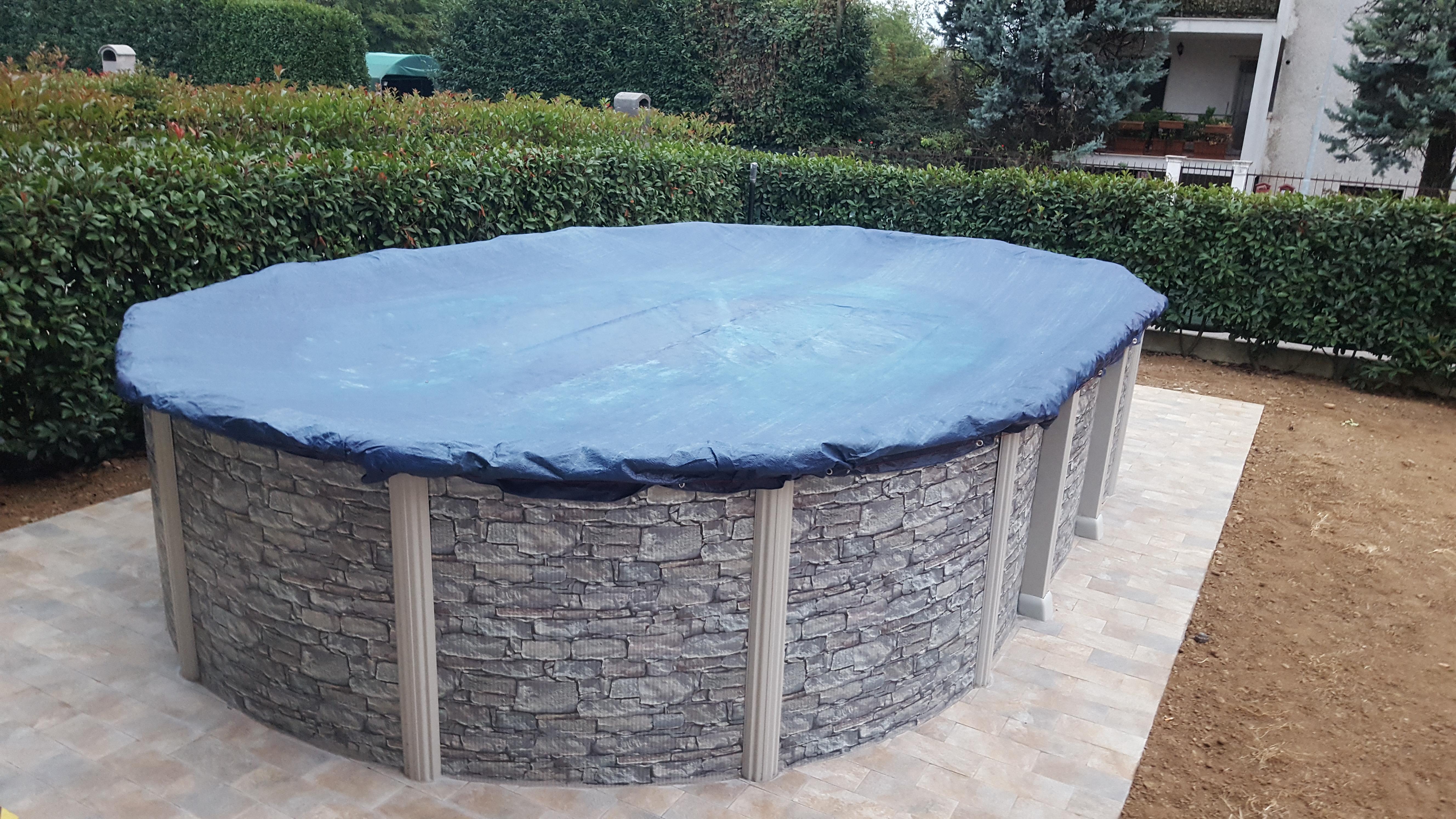 Piscina Da Esterno Fuori Terra coperture invernali per piscine fuori terra - blog piscine