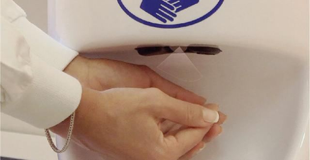 Nebulizzatore sterilizzante per mani