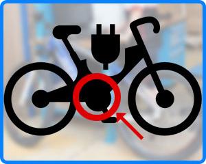 bicicletta con motore centrale