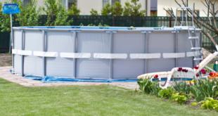 preparazione terreno per piscina una fuori terra