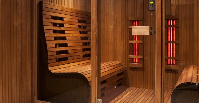 pulizia vetri sauna